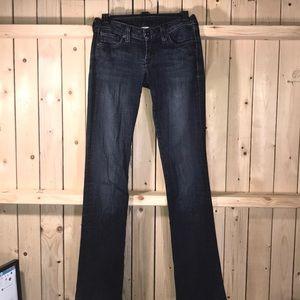 Lucky Brand Jeans Long Inseam 0/25 Lauren Boot